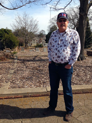 Daddy at Oakland Cemetery